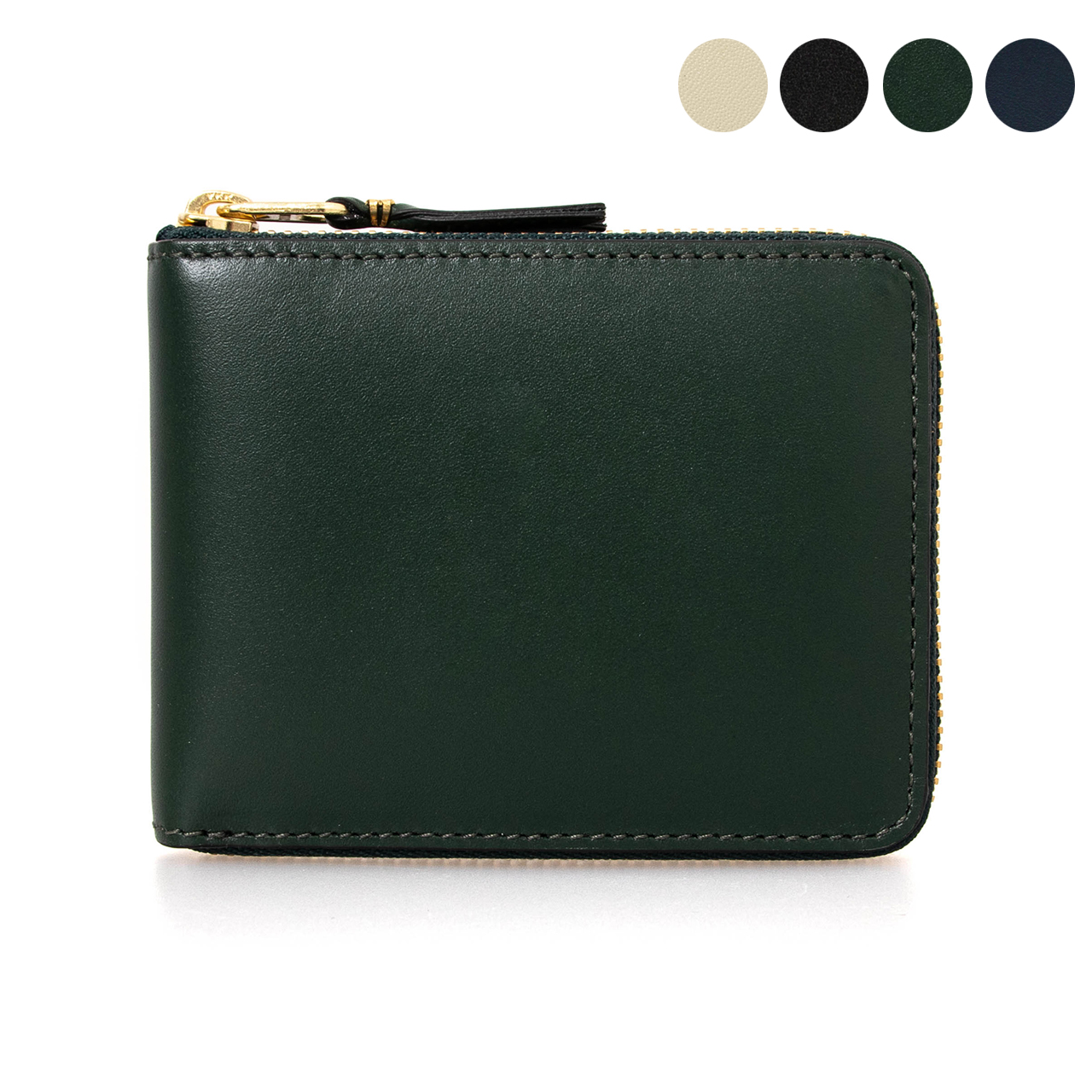 コムデギャルソン COMME DES GARCONS 財布 ラウンドファスナー二つ折り財布 ミニ財布 CLASSIC LINE [クラシック] SA7100 [全3色]【母の日】