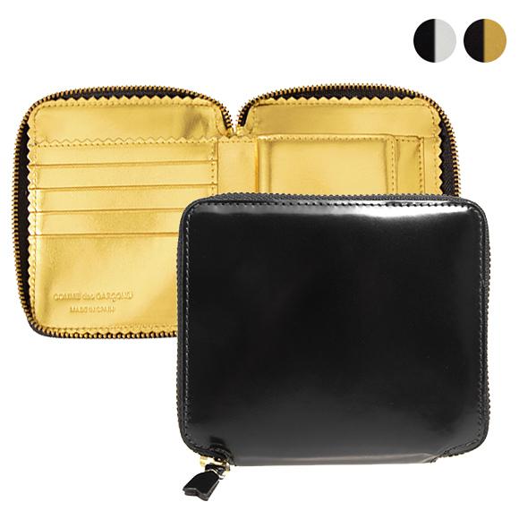 コムデギャルソン COMME DES GARCONS 財布 ラウンドファスナー二つ折り財布 MIRROR INSIDE SA2100MI [全2色]【母の日】