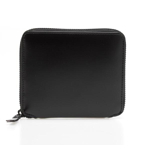 コムデギャルソン COMME DES GARCONS 財布 ラウンドファスナー二つ折り財布 ブラック 黒 VERY BLACK SA2100VB BLACK【母の日】