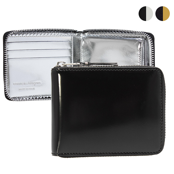 コムデギャルソン COMME DES GARCONS 財布 ラウンドファスナー二つ折り財布 MIRROR INSIDE SA7100MI [全2色]【母の日】