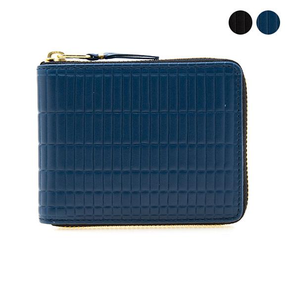 コムデギャルソン COMME DES GARCONS 財布 ラウンドジップ二つ折り財布 ミニ財布 BRICK SA7100BK [全2色]【母の日】