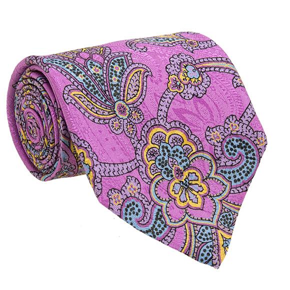 more photos 2bd5a c5ea4 エトロ ETRO men tie purple (paisley) CRAVATTA 8cm TIE 12026 4004 650 PURPLE