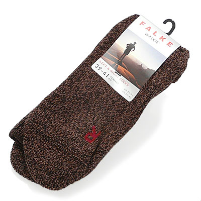 Falke socks WALKIE SOCKS dark brown 16480 5450 FALKE ふぁるけ