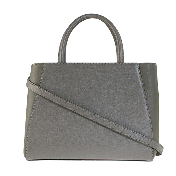 Fendi by FENDI bag PETIT 2JOURS [to Jules] women's 2-WAY handbag carbon grey 8 D7E BH253 F033J CARBON+PALLADIO