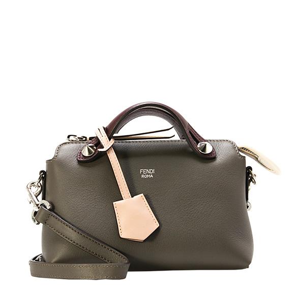 7b9c112459 Fendi FENDI bag BY THE WAY MINI [visor way mini] Lady's 2WAY handbag carbon  ...