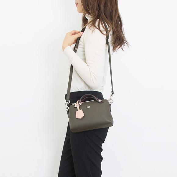 1592526fed Fendi FENDI bag BY THE WAY MINI [visor way mini] Lady's 2WAY handbag carbon  gray 8BL135 5QJ F14QF CARBON+PLASTER+MULTI COLOR