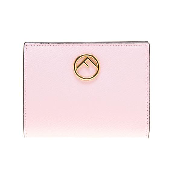 フェンディ FENDI 財布 レディース 二つ折り財布 ミニ財布 SMALL WALLET ペオニアピンク 8M0387 A18B F01KW PEONIA+ORO SOFT