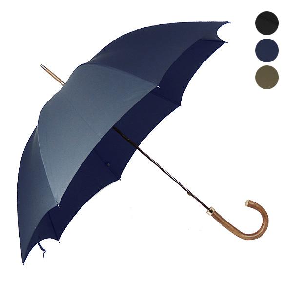 フォックスアンブレラズ FOX UMBRELLAS 傘 GT8 メンズ長傘 [全3色] NATURAL CHESTNUT HANDLE 【国内配送G】【レイングッズ】 【英国】