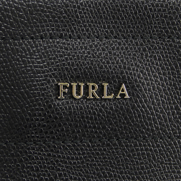 전체 라 FURLA 여성용 가방 MUSA [뮤 사] 블랙 × ペタロホワイト M TOTE C/ZIP 768374 BDE7 ARE ONYX + PETALO