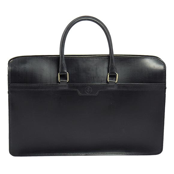 グレンロイヤル GLENROYAL バッグ メンズ ブリーフケース ブラック 黒 2 HANDLE ZIP TOP CASE 02-5225 BLACK 【A4】【英国】