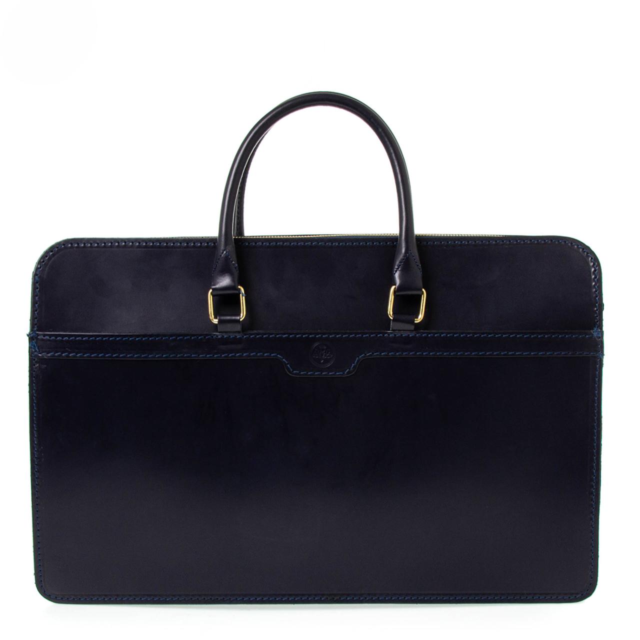 グレンロイヤル GLENROYAL バッグ メンズ ブリーフケース ネイビー 2 HANDLE ZIP CASE 02-5225 NAVY 【A4】【英国】