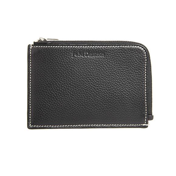 ジェイアンドエムデヴィッドソン J&M DAVIDSON 財布 レディース L字ファスナー財布/コインケース ブラック SMALL SOFT PURSE 10247N 7470 9990 BLACK【英国】