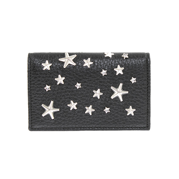 Chelseagardensuk rakuten global market jimmy choo jimmy choo supplementary explanation 133 nello put a business card by using the texture of soft deerskin ornate design card to be jimmy choo silver studded draped colourmoves
