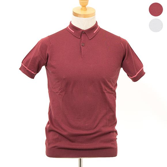 ジョンスメドレー JOHN SMEDLEY メンズ 半袖ポロシャツ SHELDON POLO SHIRT STANDARD FIT [全2色]【英国】