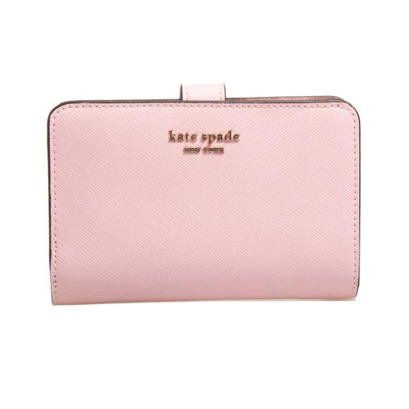 ケイトスペード KATE SPADE 財布 レディース 二つ折り財布 チュチュピンク SPENCER COMPACT WALLET PWRU7748 955 TUTU PINK