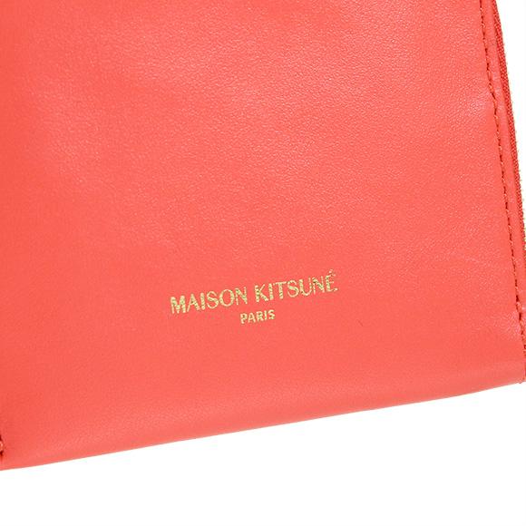 Maison Fox MAISON KITSUNE wallet ladies coin purse COIN PURSE LEATHER