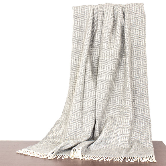 クリッパン Klippan Wool Blanket Rug Throw Light Gray Clic Throws Rumba 2074 01 Grey