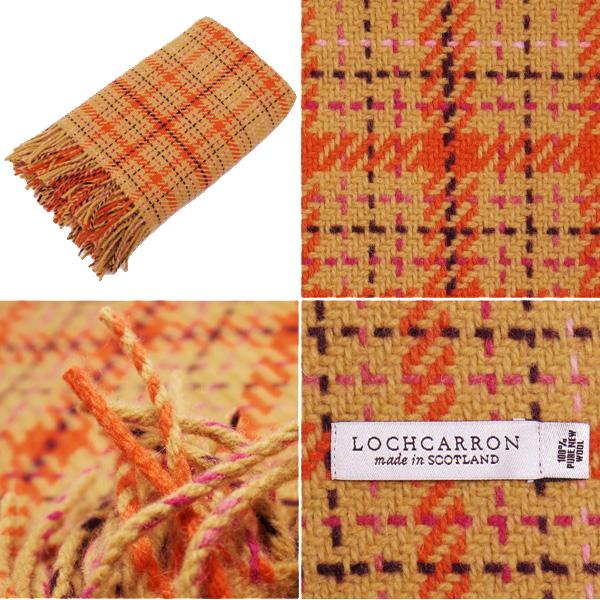 ロキャロン 2075A [4 colors] blanket LOCHCARRON