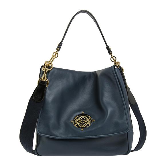 Loewe Bag Maia 2 Way Handbag Petrol Blue 374 22623b 5220
