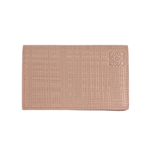 Chelseagardensuk rakuten global market loewe loewe card case loewe loewe card case card case linen business card holder linen business card holder pink beige 101 88 m97 9190 blush colourmoves