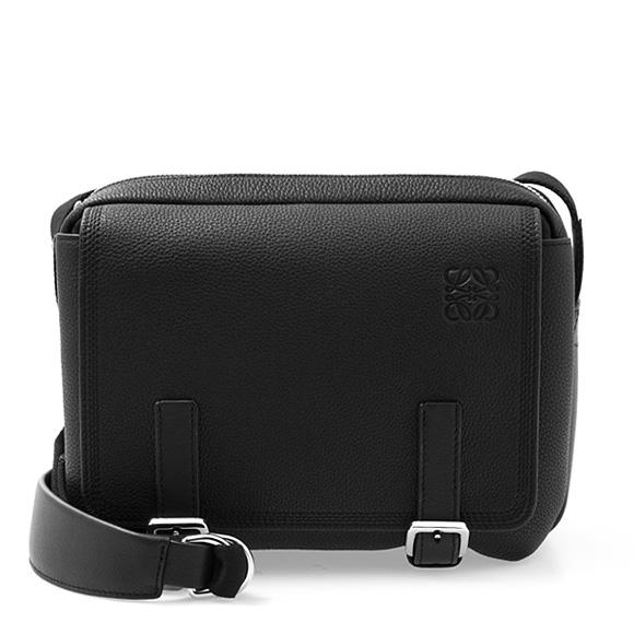 100 %品質保証 【10%OFFクーポン対象】 ロエベ LOEWE バッグ メンズ BAG 黒 ショルダーバッグ ブラック ブラック 黒 MILITARY MESSENGER XS BAG 313 53 U20 1100 BLACK, リリパ 住まいのリフォーム:d72247a3 --- phcontabil.com.br