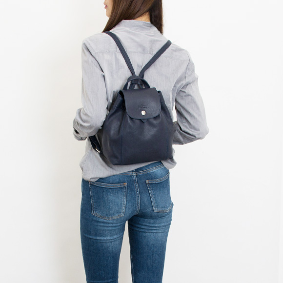 6858980bed47 Longchamp LONGCHAMP bag lady rucksack backpack LE PLIAGE CUIR BACKPACK XS  1306 737  all two colors