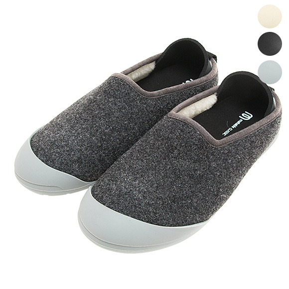 25dc1e727b7 マハビス MAHABIS ladies  room shoes inside and outside combined use slippers  MAHABIS CLASSIC dark gray MC-U DG DARK GREY