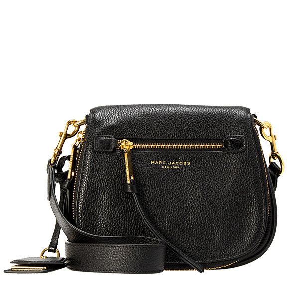 f36b63e6d20 Mark Jacobs MARC JACOBS bag lady shoulder bag black RECRUIT SMALL NOMAD  [Recruit Small nomad ...