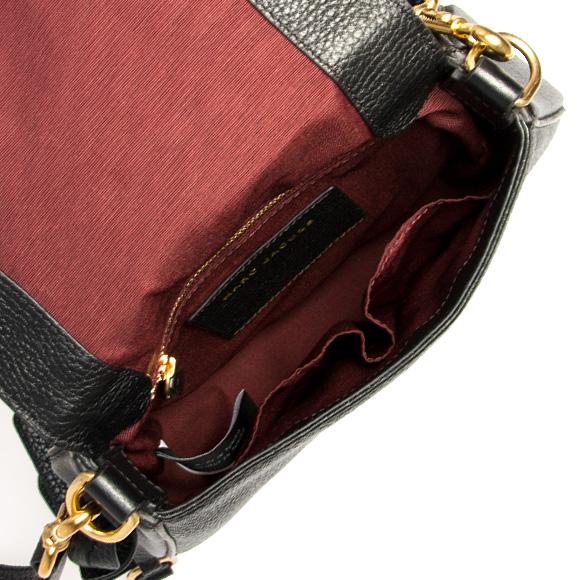 Mark Jacobs MARC JACOBS bag lady shoulder bag black RECRUIT SMALL NOMAD  Recruit  Small nomad  M0008137 001 BLACK b5caa6ca7c2e2