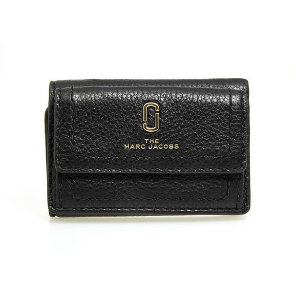 マークジェイコブス MARC JACOBS 財布 レディース 三つ折り財布 ミニ財布 ブラック THE SOFTSHOT MINI TRIFOLD M0015413 001 BLACK
