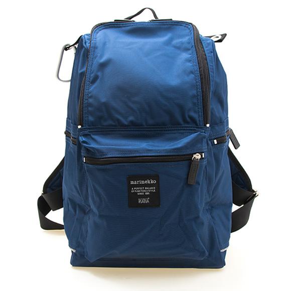 マリメッコ MARIMEKKO バッグ バックパック(リュック) ナイトブルー BUDDY BACKPACK 047018 555 NIGHT BLUE