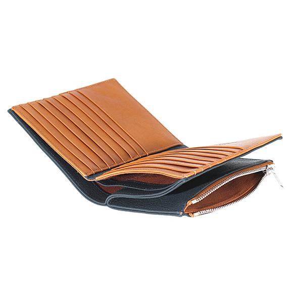 8c662947615c メゾンマルジェラ MAISON MARGIELA メンズ 二つ折り財布 PR516 [全2色] S55UI0188-メンズ財布