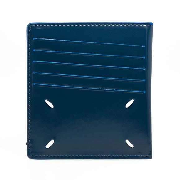 メゾンマルジェラ MAISON MARGIELA メンズ カードケース ナイトブルー S55UI0201 P2714 T6065 BLUE NIGHTS