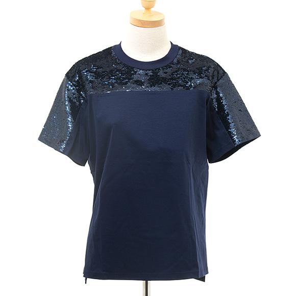 マックスマーラ MAX MARA SPORTMAX CODE レディース Tシャツ ネイビー B赤A 79410502 004 BLU NAVY