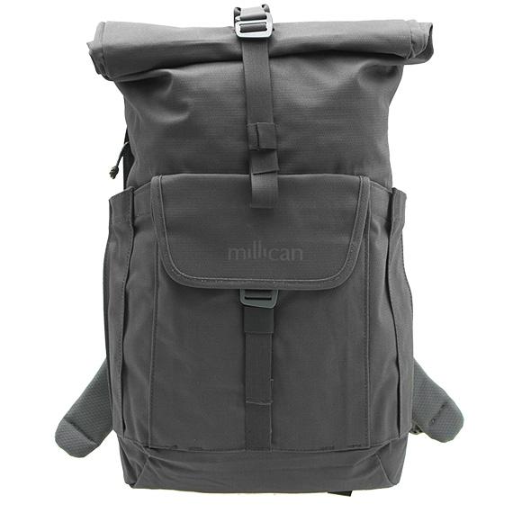 ミリカン MILLICAN バッグ バックパック グラファイトグレー SMITH ROLL PACK 15L WP M019 GT GRAPHITE 【A4】【英国】
