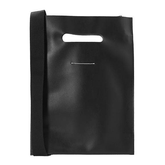 MM6 メゾンマルジェラ MAISON MARGIELA レディース 2WAY ハンドバッグ ショルダーバッグ ブラック 黒 S54WD0040 PR516 900 BLACK 【A4】