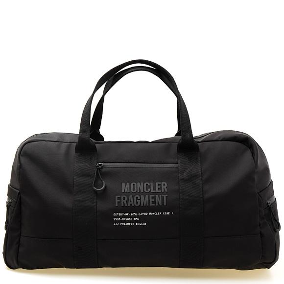 モンクレール MONCLER バッグ メンズ リバーシブルボストンバッグ/リュック ブラック×シルバー GENIUS FRAGMENT DUFFLE BAG 00616.00 01ADY 999 NERO【A4】