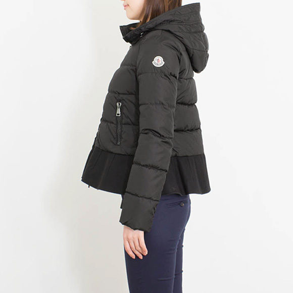 ... monk rail moncler ladys down jacket nesea black 45880.85 54155 999 nero