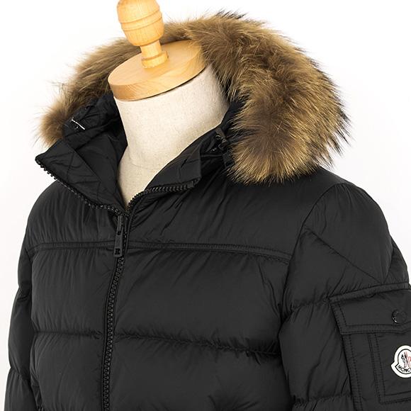 Monk rail MONCLER men down jacket MARQUE black black 4137825 53227 999 BLACK
