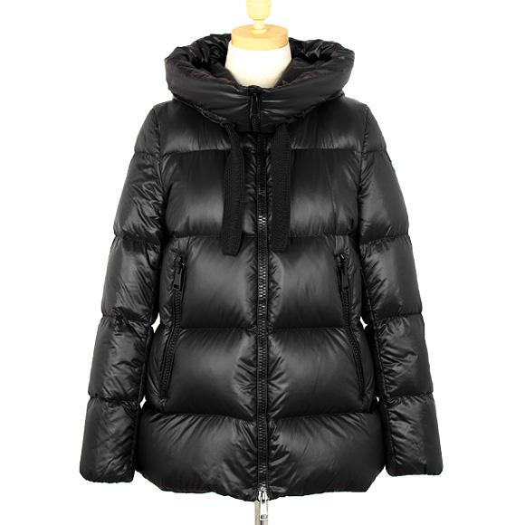 モンクレール MONCLER レディース ダウンジャケット SERIN ブラック 黒 46373.49 53052 999 BLACK