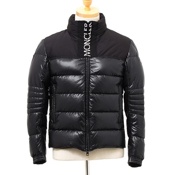 モンクレール MONCLER メンズ ダウンジャケット ブラック BRUEL 41826.85 68950 999 BLACK