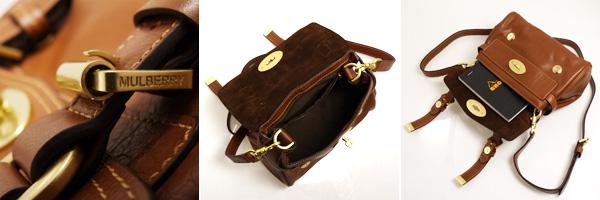 c408adf3d18 ... canada mulberry mulberry bag alexa 2way shoulder bag mini alexa oak  braun hh7879 671 g110 oak
