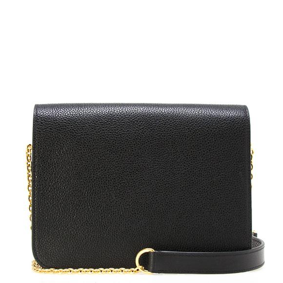 0a7895ba6baa Circle berry MULBERRY bag lady 2WAY shoulder   clutch bag black CLIFTON  CHAIN STRAP HH4420 205A 100 BLACK
