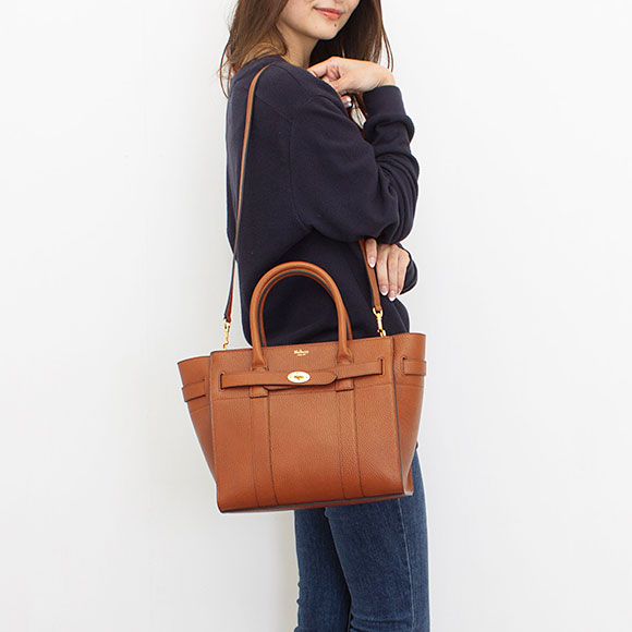 48c659c222 low cost circle berry mulberry bag bayes water ladys 2way handbag small  zipped bayswater oak brown