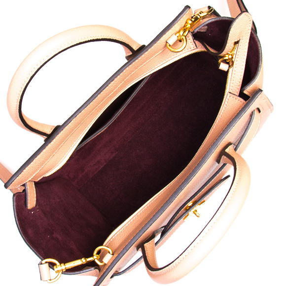 a408716b3609 Circle berry MULBERRY bag Bayes water Lady s 2WAY handbag MINI ZIPPED  BAYSWATER Rose water beige HH4949 205 J633 ROSEWATER