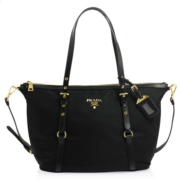 PRADA (Prada) 2-WAY handbag black BR4254 ZMY F0002 NERO SHOPPING PRADA puffy from is PLYDY