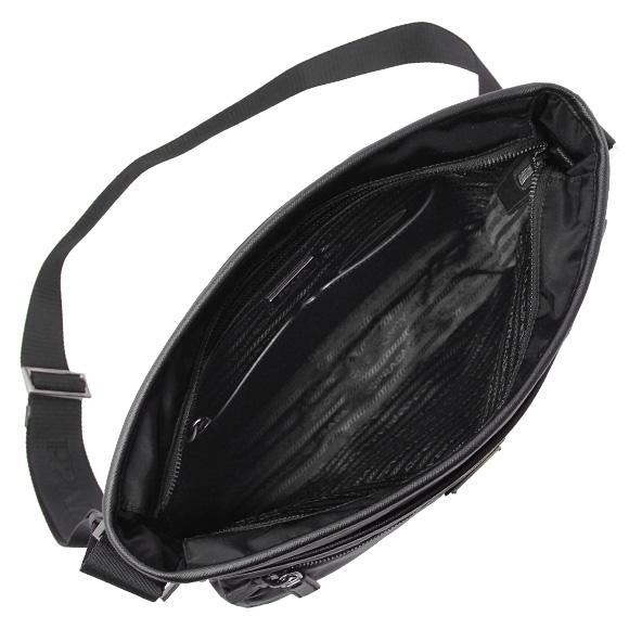 프라다 PRADA 남성용 숄더백 A4 블랙 2VH953 64 F0002 NERO