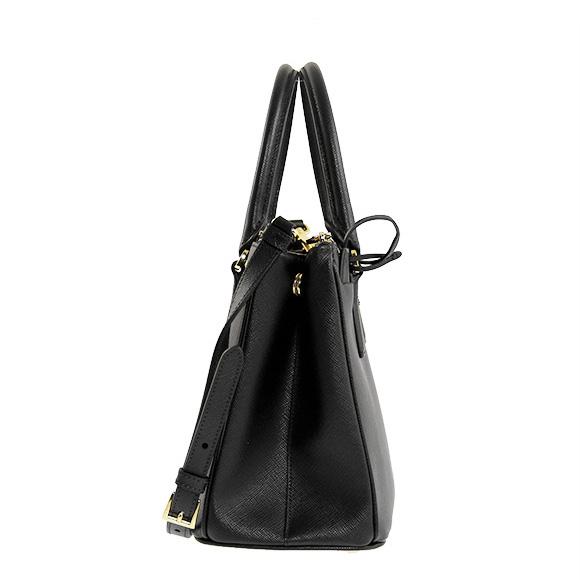 Prada PRADA bags female 2-WAY handbag black BORSA A MANO 1BA863 NZV F0002  NERO cc3017be01ab