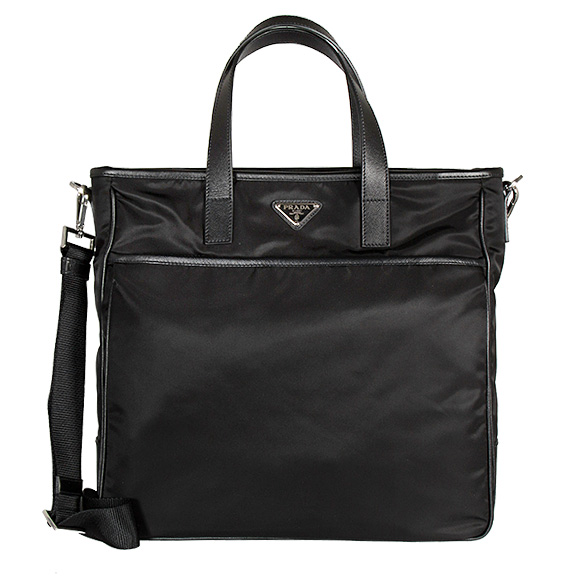 Prada PRADA mens 2WAY Tote   shoulder bag A4 black SHOPPING 2VG032 064  F0002 NERO 974cb2dd8405d
