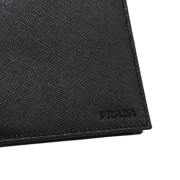 普拉达 (prada) 普拉达男士钱包名片盒夹黑色钱包 PORTAF。 MOLLA 2MN077 053 F0002 NERO 2 M 1077 053 F0002